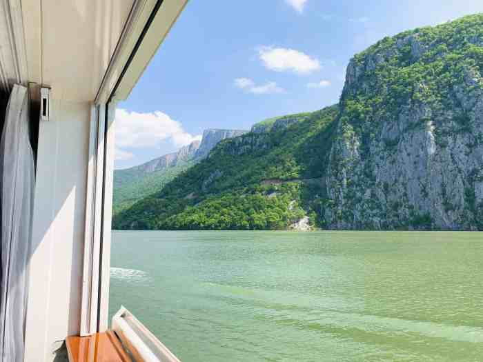 Sailing through the iron gates on crystal river cruises