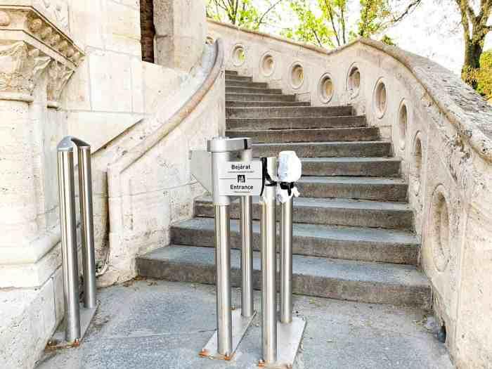 Entrance fee to Fisherman's Bastion Hungary