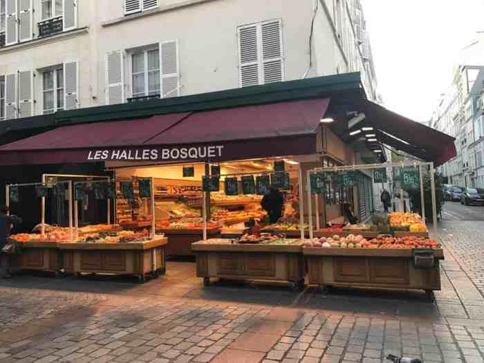 don't forget to stop by the Rue Cler Street Market as one of the hidden gems of Paris
