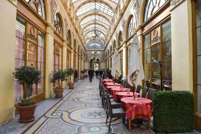 for a unique shopping experience away from any rain visit one of the hidden gems in paris