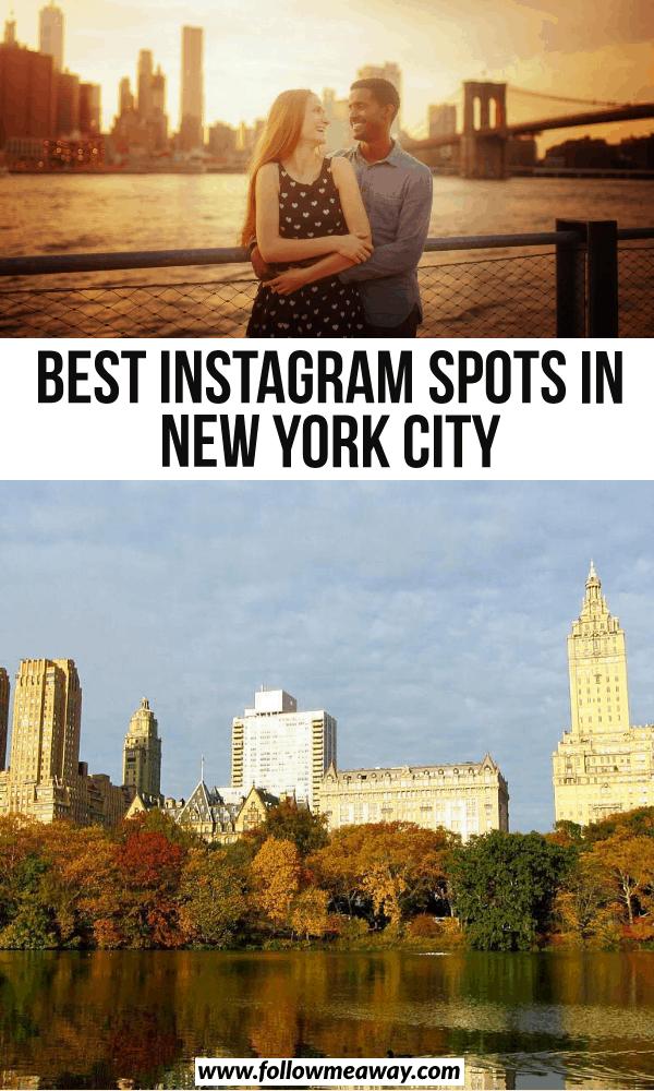 best instagram spots in new york city