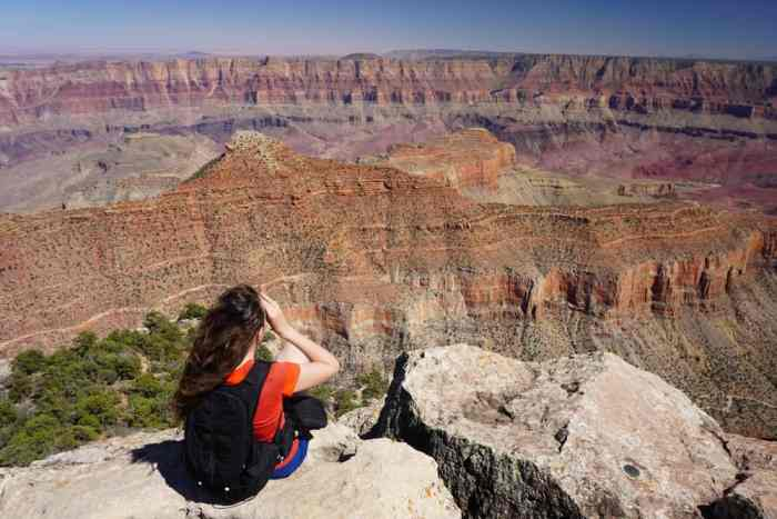 the Cape Final Trail is one of the most family friendly Grand Canyon hikes