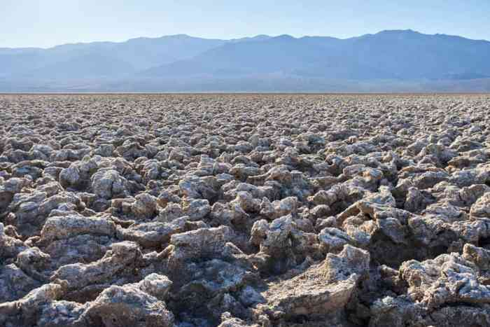 visiting the Devil's Golf Course is one of the most interesting things to do in Death Valley