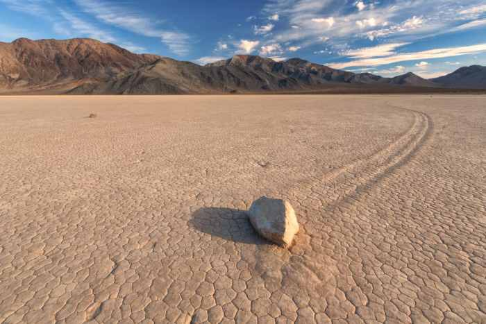 observing the mystery of Racetrack Playa is one of the most fascinating things to do in Death Valley