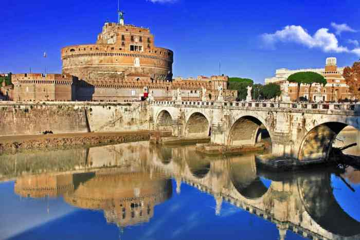 Castle St. Angelo is now a museum rich with Roman history that you must see!