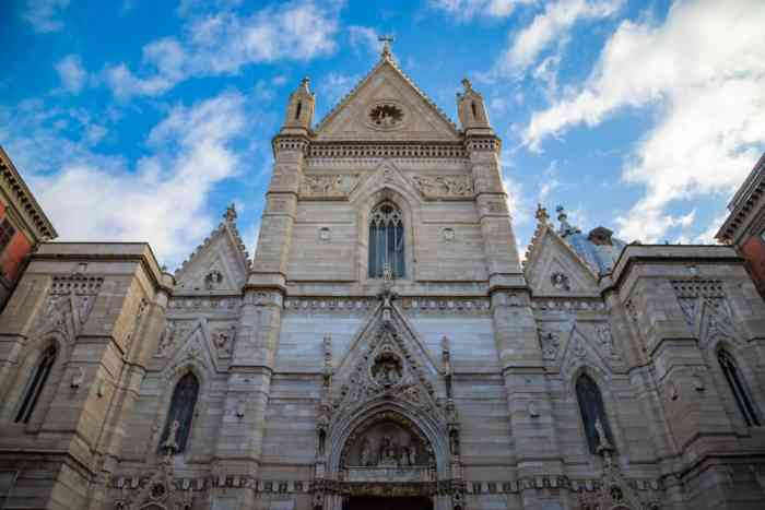 Vist the Naples Cathedral while in Italy for 2 weeks