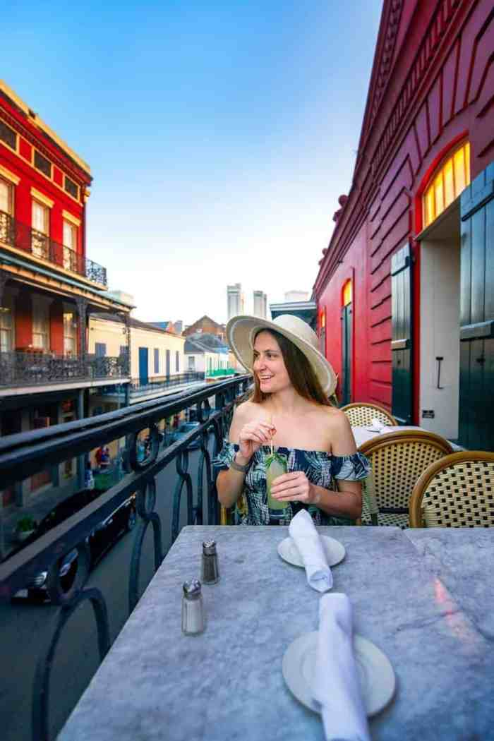 Dining at Tableau on New Orleans itinerary