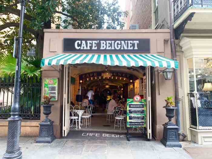 Stop at a cute cafe for you 3 days in new orleans itinerary lunch