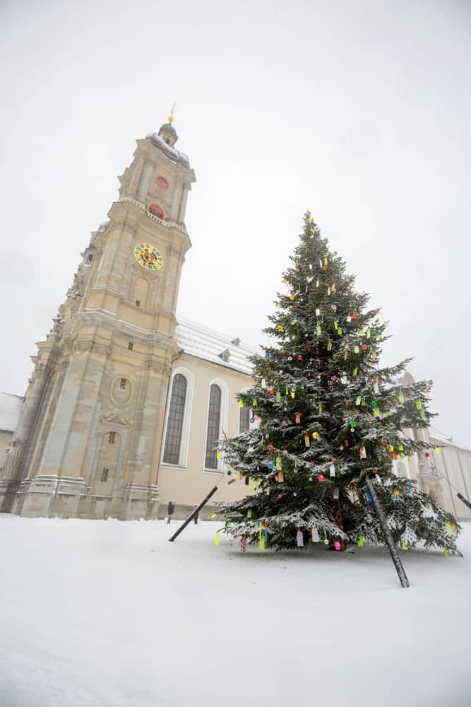 The charming Christmas market in St Gallen