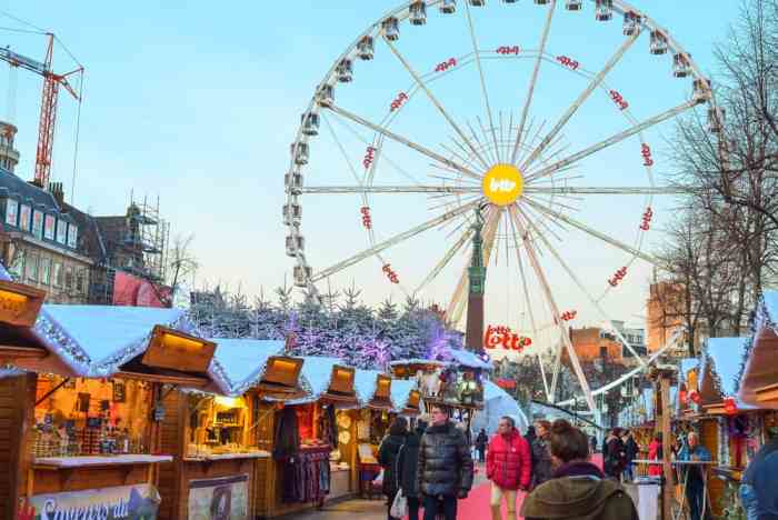 This Christmas market in Brussels is beautiful