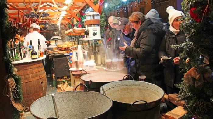 Enjoy one of Budapest's most popular Christmas markets