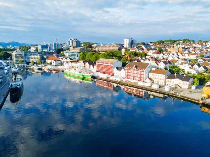 Photo of Norwegian City of Stavanger