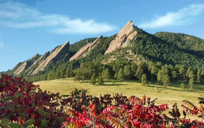 hike the Flat Irons on your Colorado road trip