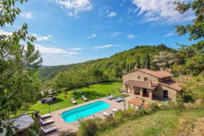 Villa Localita Gello di Antria has one of the prettiest views