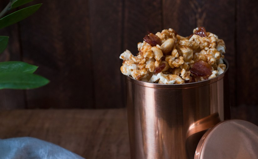 Smoked Maple Bacon Popcorn