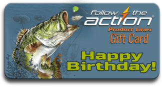 Follow the Action Hawg Hunter Birthday Gift Card