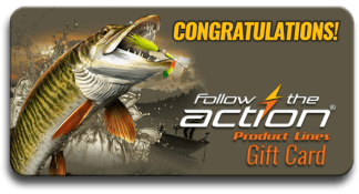 Follow the Action Musky Congratulations Gift Card