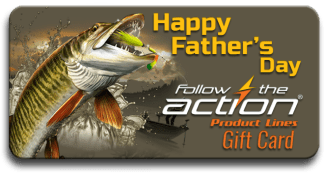 Follow the Action Musky Father's Day Gift Card