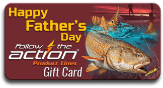 Follow the Action Redfish Father's Day Gift Card