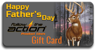Follow the Action Trophy Buck Father's Day Gift Card