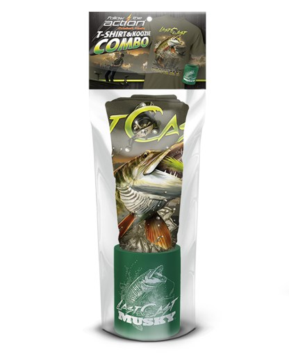 """Follow the Action- Musky """"Last Cast"""" Combo Gift Set"""