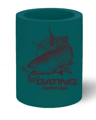 """Follow the Action- Redfish """"Tail"""" Koozie Can Cooler"""
