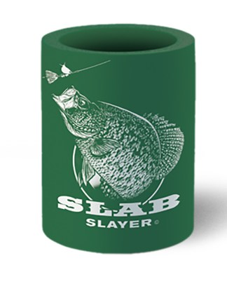 "Follow the Action Crappie ""Slab Slayer"" Koozie Can Cooler"