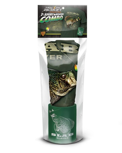 Follow the Action- Crappie Slab Slayer Combo Gift Set