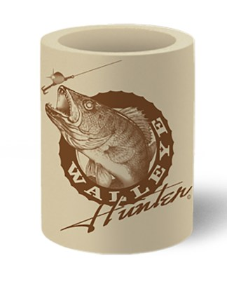Follow the Action Walleye Hunter Koozie Can Cooler