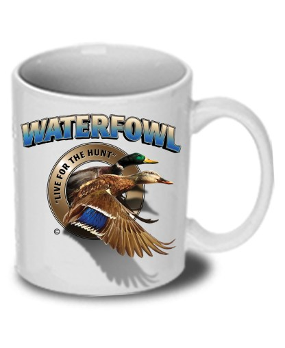 Follow the Action- Waterfowl Duck Ceramic Mug