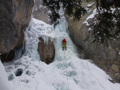 Cascate di ghiaccio Ceillac 12.02.2016 017
