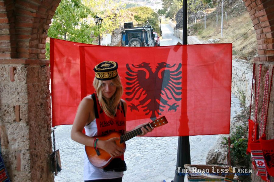 Dee is proud to be an Albanian