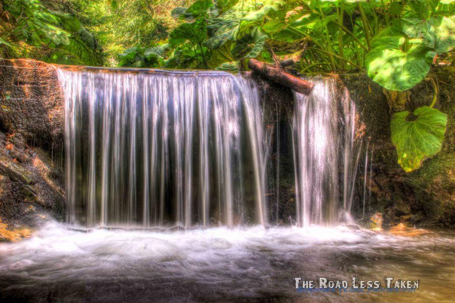 Waterfall on Small Mountain Stream, Bulgaria