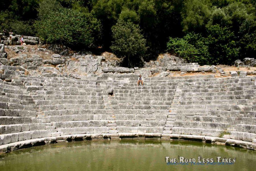 Butrint amphitheatre, Albania
