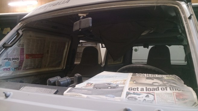 VW Syncro Vanagon New Front Window