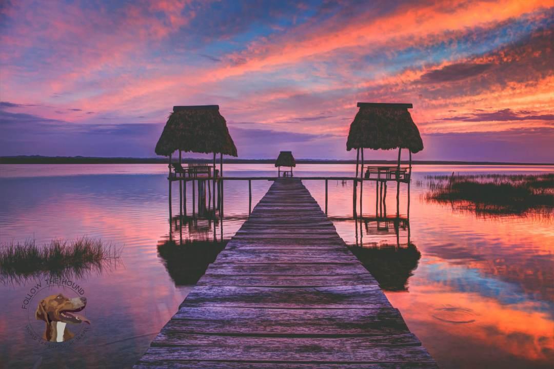 Overland Guatemala - Camping Lake Peten Itza