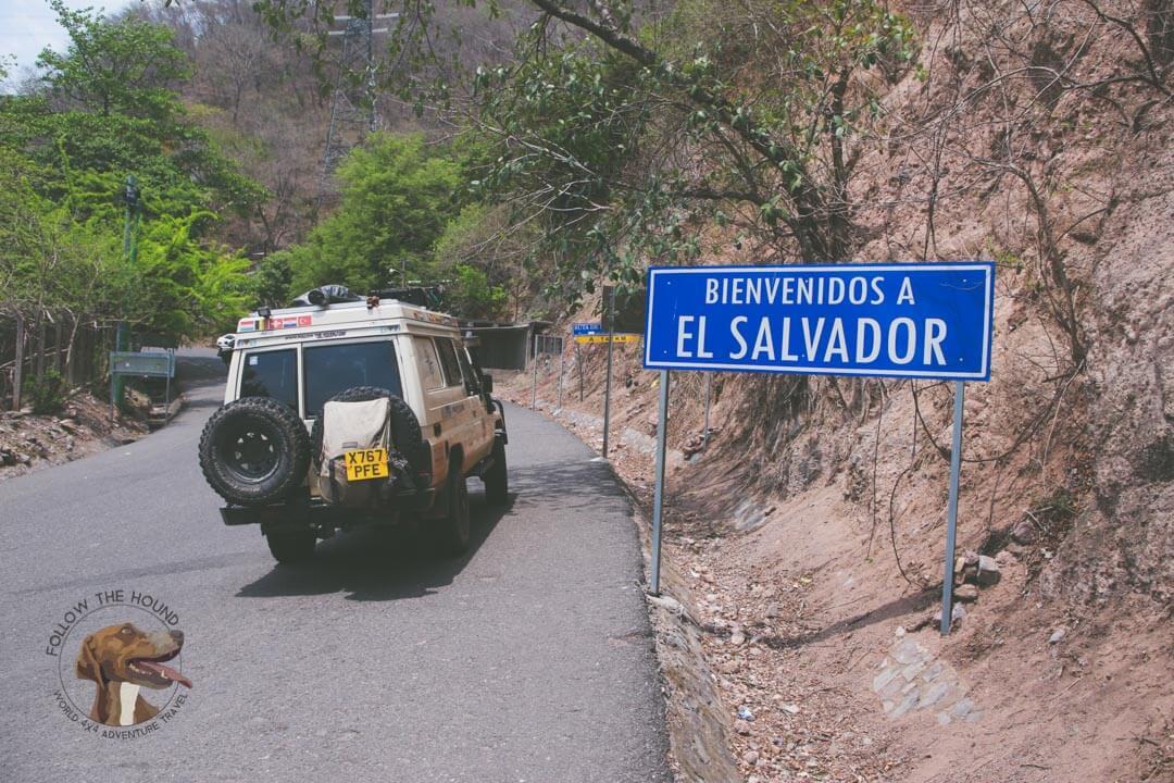 Overland El Salvador - Border Crossing
