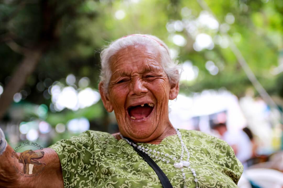Friendly people of El Salvador