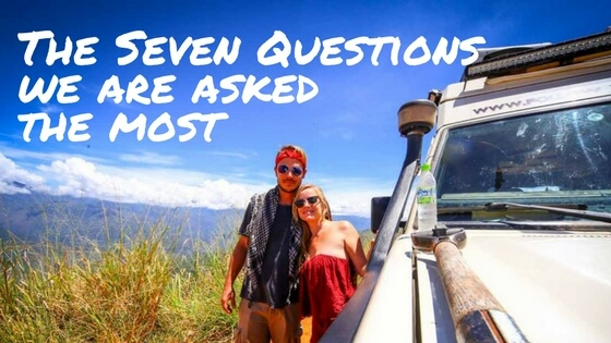 The 7 questions we're always asked on the road