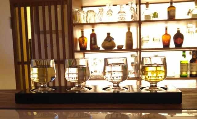 Juban, traditional Korean alcohol and fusion food, in Seochon, Seoul.