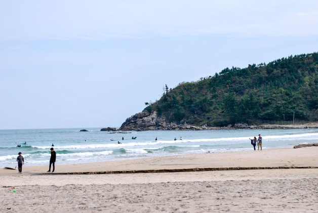 Yangyang and Sokcho Beach, South Korea.