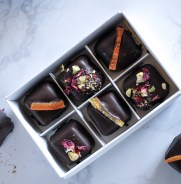Hallabong orange marmalade-filled chocolates