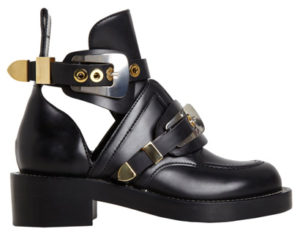 balenciaga-cut-out-buckle-ankle-boots-black