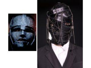 La maschera di ferro: un look della sfilata autunno inverno 2016 di AF Vandervorst e Leonardo Di Caprio nel film di Randall Wallace.