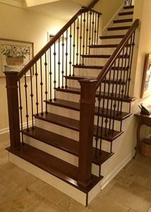 Hardwood Stair Treads Folsom Stair Woodworks | Wood Stair Tread Caps | Red Oak | Retread | Hardwood | Nosing | Pre Built
