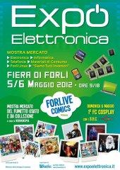Locandina Fiera Elettronica Forlì Maggio 2012