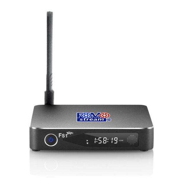 FOMOstream™ FS1mini Android TV Box