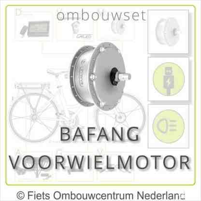 Ombouwset met Bafang Voorwielmotor