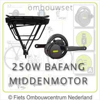Ombouwset Middenmotor Bafang BBS 250W Drageraccu 01