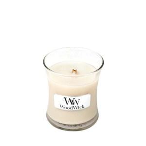 Woodwick Vanilla Bean vela pequeña